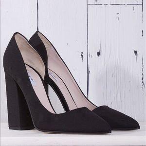 Emerson Fry Black D'Orsay Heels
